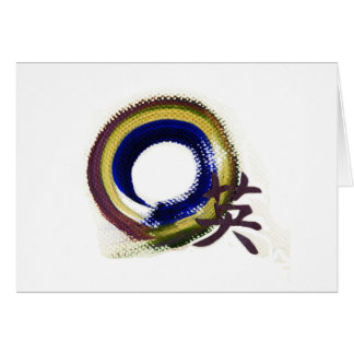 Enso - Aperature of Courage Greeting Card