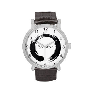 Enso Circle and Breathe Watches