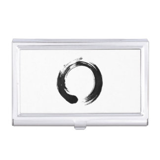 Enso Circle Business Card Holder