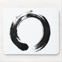 Enso Circle Mousepad