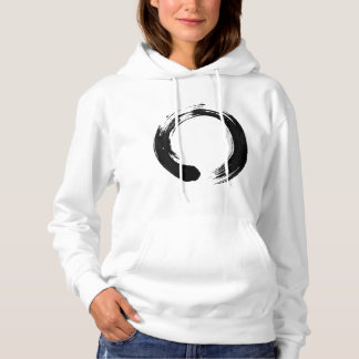 Enso Circle Women's Basic Hooded Sweatshirt