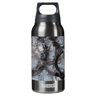 Enso Collage - mixed media Insulated Water Bottle
