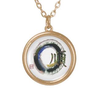 Enso - Kanji character for Gentleness, Sumi-e Custom Jewelry