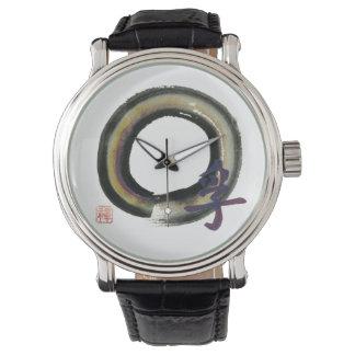 Enso - kanji para la verdad reloj de mano