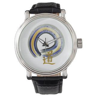 Enso, la manera en azul relojes de pulsera