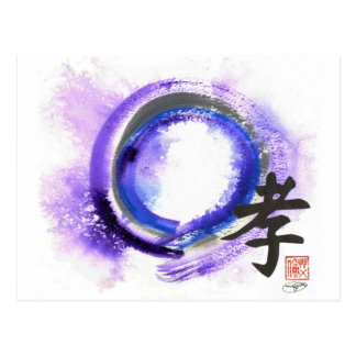 Enso, Piety in Focus Postcard