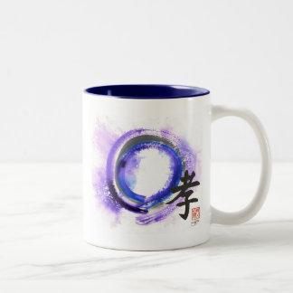 Enso, Piety in Focus Two-Tone Coffee Mug