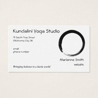 Enso Symbol with Zen Symbol v2 Business Card