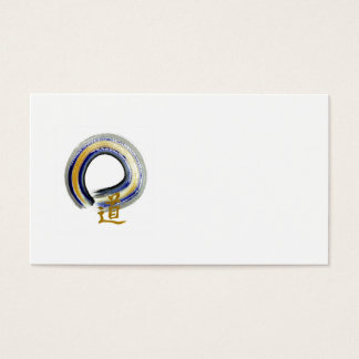 Enso, The Way in Blue Business Card