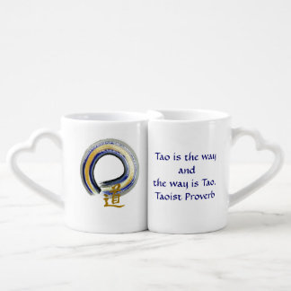 Enso The Way in Blue Lovers Mug Set