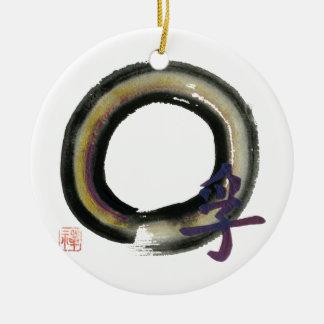 Enso, Truth Ceramic Ornament