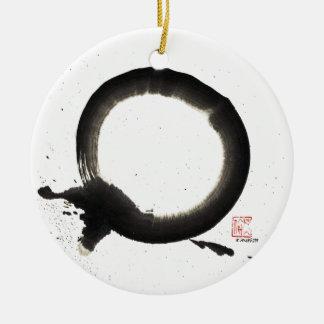 Enso, Union Ceramic Ornament