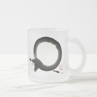 Enso, Union 10 Oz Frosted Glass Coffee Mug