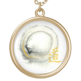 Enso, Way in Gold Personalized Necklace