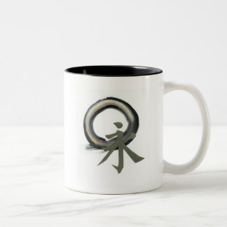 Enso with Kanji meaning Forever Mugs