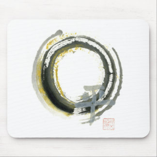 Enso with PAX, Sumi-e Mouse Pad
