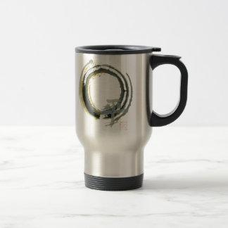 Enso with PAX Sumi-e Coffee Mug