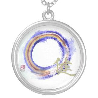 enso - Zen Vigor Round Pendant Necklace