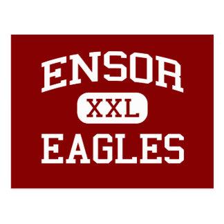 Ensor - Eagles - escuela secundaria - El Paso Tarjetas Postales