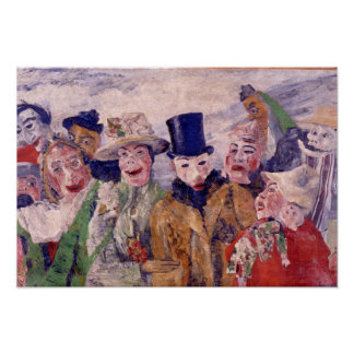 Ensor Painting Poster