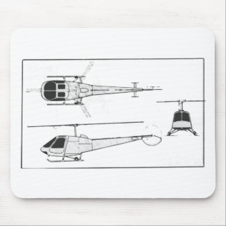 Enstrom-F28 Mouse Pad