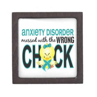 Ensuciado con desorden de ansiedad incorrecto del caja de joyas de calidad