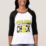 Ensuciado con el polluelo incorrecto 1 Spina bífid Camiseta