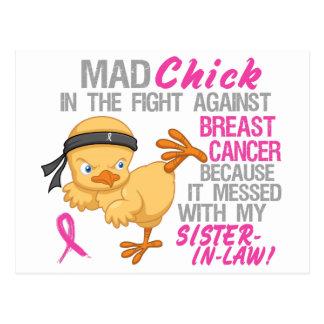 Ensuciado con mi cáncer de pecho de la cuñada 3L Postal