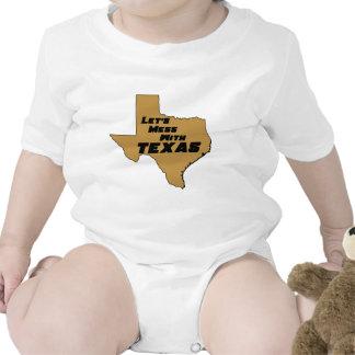 Ensuciemos con Tejas Brown Camiseta