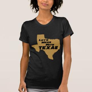 Ensuciemos con Tejas Brown Camisetas
