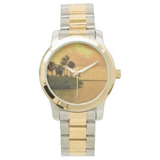 Ensueño de la palmera reloj