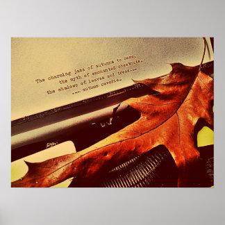 Ensueño del otoño póster