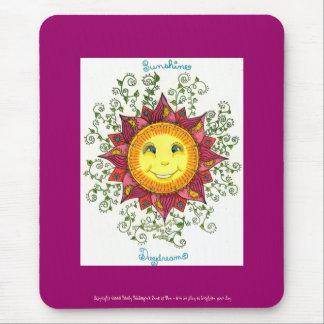 Ensueños de la sol - Mousepad (fuschia)