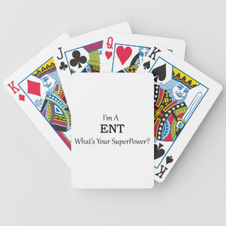 ENT BICYCLE PLAYING CARDS