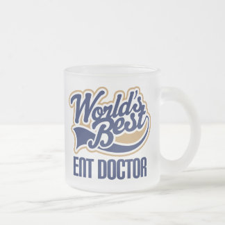 Ent Doctor Gift Frosted Glass Coffee Mug