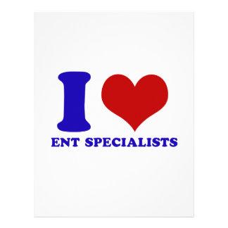 ent specialists design letterhead