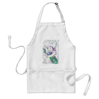 entangle in its magical spell adult apron