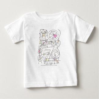 Entangled-Abstract Art Geometric Baby T-Shirt