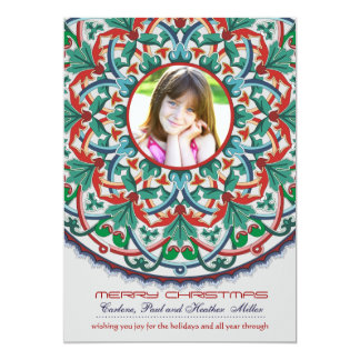 Entangled Beauty - Photo Holiday Card