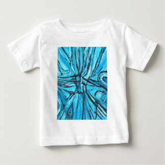 Entangled Cross (linear expressionism) Baby T-Shirt