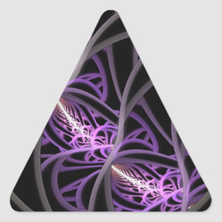 Entangled Triangle Sticker