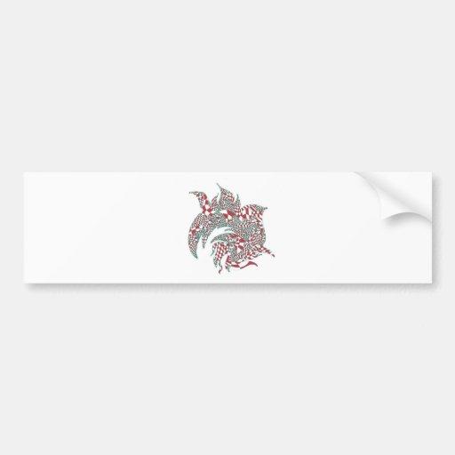 Entanglement Design Products Car Bumper Sticker