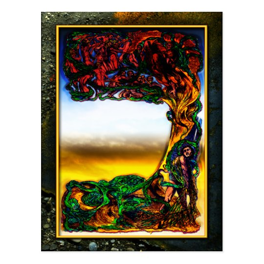 Entanglements Heaven & Earth Postcard