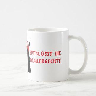 Entblösst die Frauenrechte! Coffee Mug