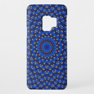 Ente auf Blau Kaleidoscope Small Case-Mate Samsung Galaxy S9 Case