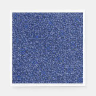 Ente auf Blau Kaleidoscope Small Standard Luncheon Napkin