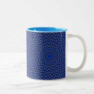 Ente auf Blau Kaleidoscope Small