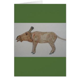 Entelodontidae are NOT extinct, Card