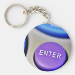Enter Buttons Remotes Keychain