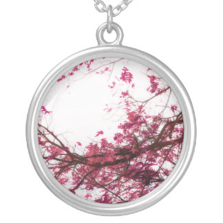 Enter Here (Infrared Version) Silver Plated Necklace